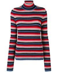 M.i.h Jeans - Moonie Striped Turtleneck Sweater - Lyst