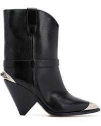 Isabel Marant ブラック Lamsy ブーツ