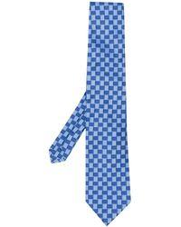 Etro Jacquard-Krawatte aus Seide - Blau