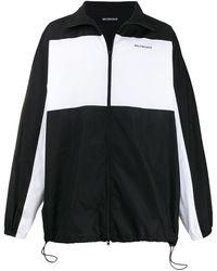 Balenciaga Trainingsjack Met Rits - Zwart