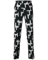 Tom Rebl - Patchwork Tailored Trousers - Lyst