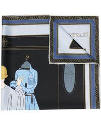 Lanvin Le Choix スカーフ - ブルー