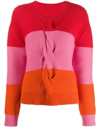 Chinti & Parker Trui Met Colourblocking - Rood