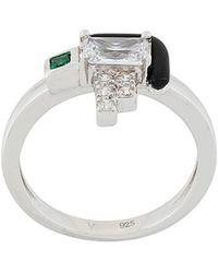 V Jewellery | Elodie Ring | Lyst