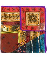 Etro Платок С Принтом - Многоцветный