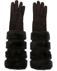Loro Piana - Furry Long Gloves - Lyst