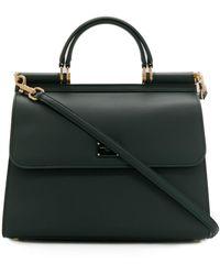 Dolce & Gabbana Sicily 58 ハンドバッグ - ブラック