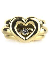 Piaget Possession ダイヤモンド リング 18kホワイトゴールド - メタリック