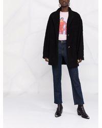 IRO シングルコート - ブラック