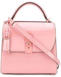 Ferragamo ボックス ハンドバッグ - ピンク