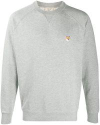 Maison Kitsuné ロゴ スウェットシャツ - グレー