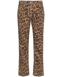 Miaou - Junior Leopard Print Slim Trousers - Lyst