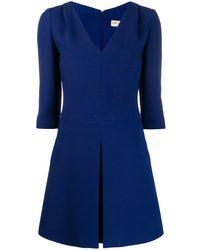 Emilio Pucci プリーツ ドレス - ブルー
