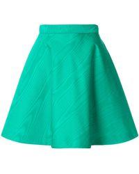 MSGM | High-waisted Skater Skirt | Lyst