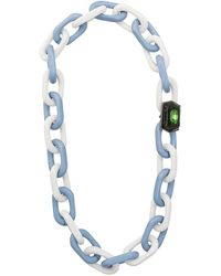 Marni - Chain Link Embellished Detail Necklace - Lyst
