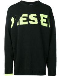 DIESEL K-logox セーター - ブラック