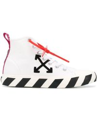 Off-White c/o Virgil Abloh Baskets montantes Arrows à patch logo - Blanc