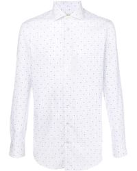 Etro - Printed Button Shirt - Lyst
