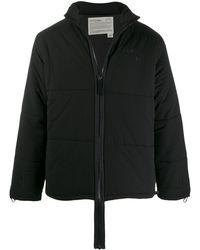 A_COLD_WALL* ジップ パデッドジャケット - ブラック