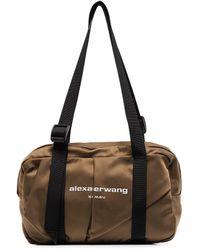 Alexander Wang Wangsport Logo-print Duffle Bag - Brown