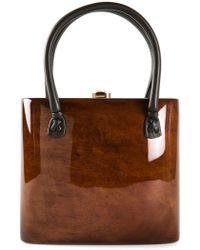 Rocio 'helena' Handbag - Brown