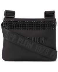 Philipp Plein Stud Detail Shoulder Bag - Black