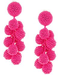 Sachin & Babi - Seedbead Bubble Earrings - Lyst