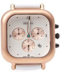 Orolog By Jaime Hayon - 'oc1' Chronograph Watch - Lyst