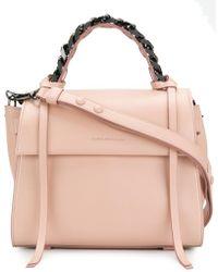 Elena Ghisellini Angel S Shoulder Bag - Pink