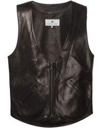 Maxwell Snow | Zipped Waistcoat | Lyst