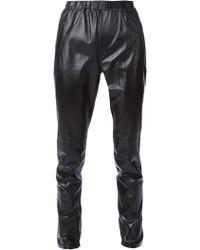 Proenza Schouler High Waist Pants - Black