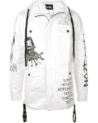 Haculla 'there's No Future For You' Jacket - White