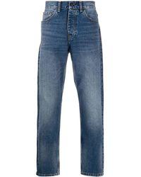 Carhartt WIP High-rise Straight-leg Jeans - Blue