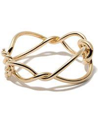 David Yurman 18kt Geel Goud Continuance Bold Armband - Metallic