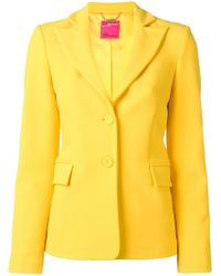 Blumarine - Fitted Single-breasted Blazer - Lyst