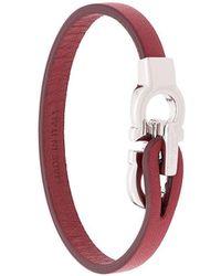 Ferragamo 'Gancino' Armband - Rot