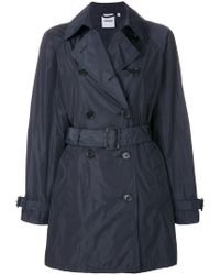 Aspesi | Double Breasted Trench Coat | Lyst