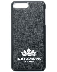 Dolce & Gabbana - Grained Crown Print Iphone 8+ Case - Lyst
