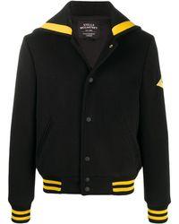 Stella McCartney グラフィックパッチ ジャケット - ブラック