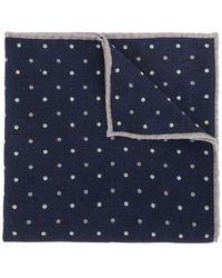 Eleventy - Polka Dot Patterned Handkerchief - Lyst