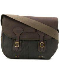 Barbour Satchel Shoulder Bag - Green