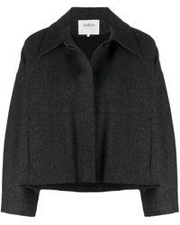 Ba&sh Long-sleeved Concealed Placket Jacket - Black