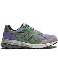 New Balance Sneakers Met Vlakken - Grijs
