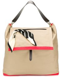 Colville Large Post Bag - Brown