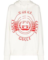 Gucci Худи С Логотипом - Белый