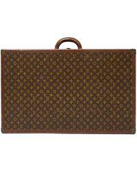 Louis Vuitton Монограммный Чемодан Pre-owned - Коричневый