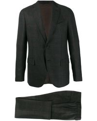 Dell'Oglio ツーピース スーツ - グレー