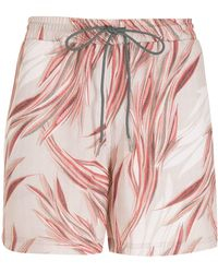 Lygia & Nanny Gil Print Shorts - Pink