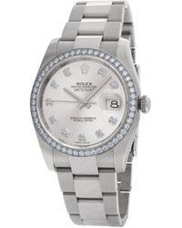 Rolex Datejust Horloge - Metallic