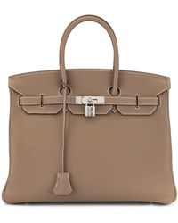 Hermès 2012 Pre-owned Birkin 35 Handbag Togo - Brown